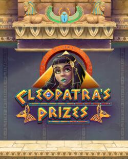 Cleopatra's Prizes online slots at mFortune online casino