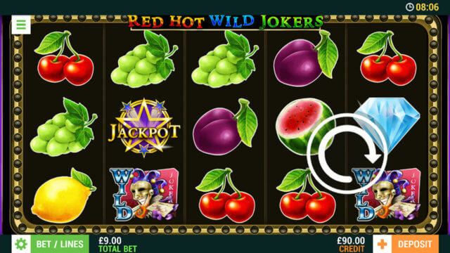 Red Hot Wild Jokers (Mobile Slots) game image at mfortune Casino