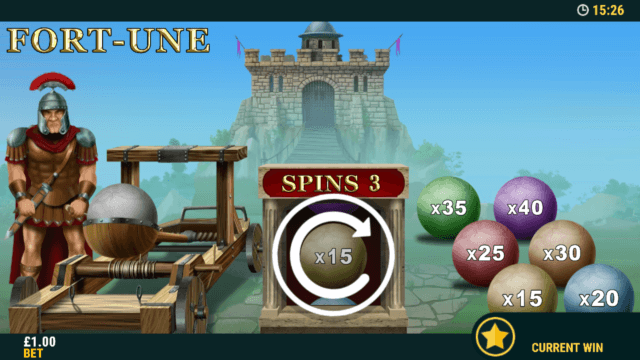Mini game in Coliseum Cash online slots