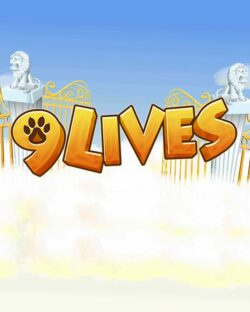 9 Lives mobile slots by mFortune Casino game logo