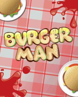 Burger Man mobile slots by mFortune Casino game logo