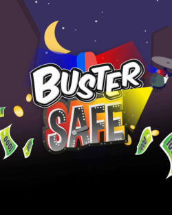 Buster Safe mobile slots by mFortune logo