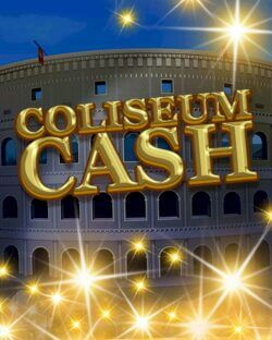 Coliseum Cash mobile slots by mFortune Casino game logo
