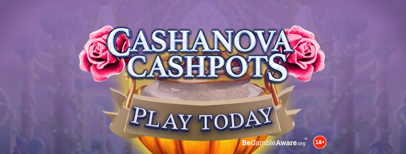 Fall in Love With Cashanova Cashpots Mobile Slots