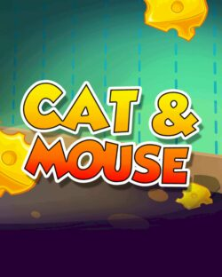 Cat and Mouse mobile slots by mFortune game logo
