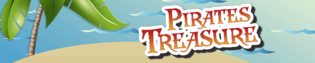 Pirate's Treasure mobile slots game logo