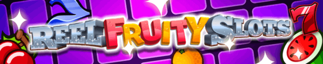 Reel Fruity Slots mobile slots by mFortune Casino game logo