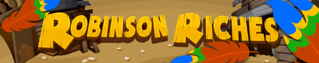 Robinson Riches mobile slots by mFortune Casino game logo