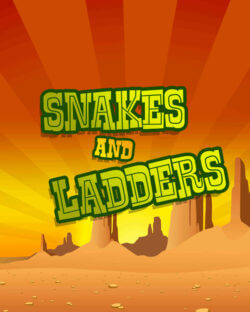 Snakes and Ladders mobile slots by mFortune Casino logo