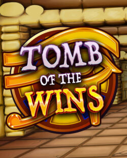 Tomb of the Wins mobile slots by mFortune Casino grid logo