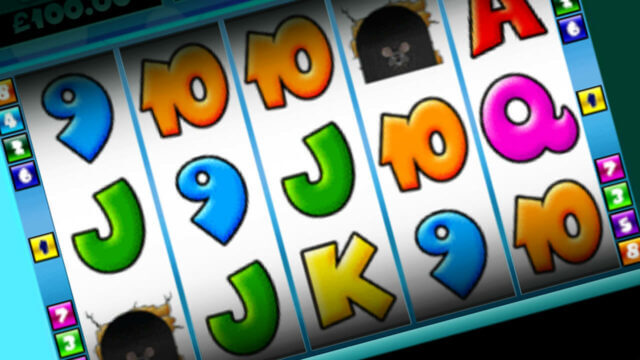 Cat & Mouse mobile slots by mFortune reels