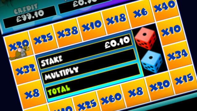 Cat & Mouse mobile slots by mFortune Mouse Trail mini-game