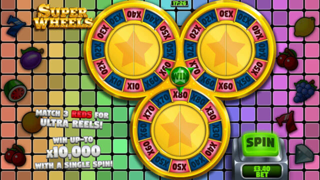 Reel Fruity Slots mobile slots by mFortune Casino mini-game screenshot