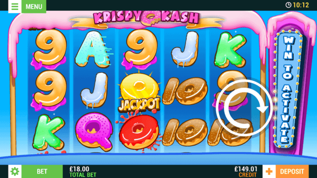 Krispy Kash (Mobile Slots) game image at mfortune Casino
