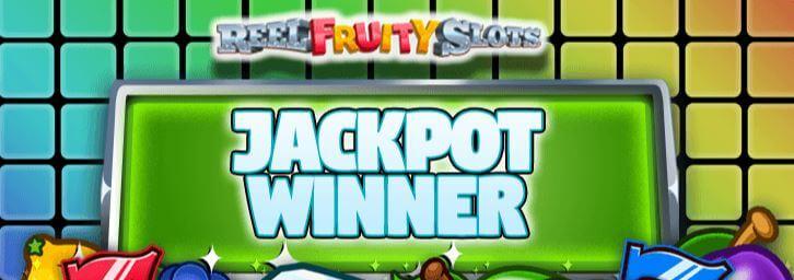 Meet the Reel Fruity Slots Jackpot Winner!