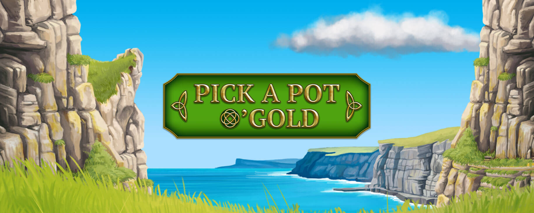 NEW GAME ALERT: Pick a Pot O' Gold