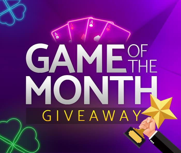 mfortune Casino's Game of The Month Bonus