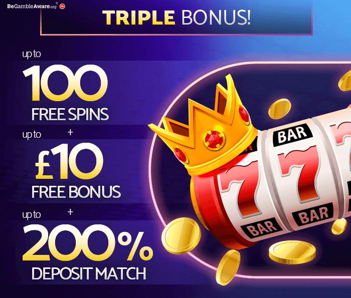 mfortune Triplebonus Bonus & Promotion Page banner