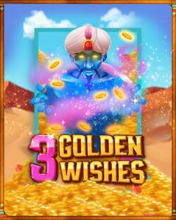 3 Golden Wishes online slots at mFortune online casino