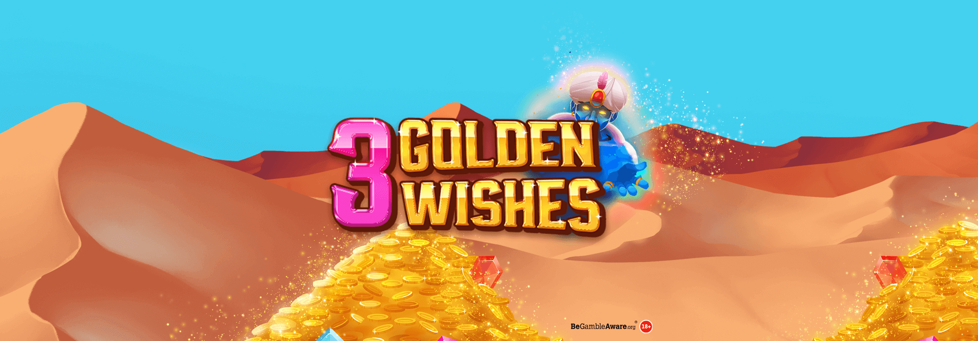 NEW GAME ALERT: 3 Golden Wishes