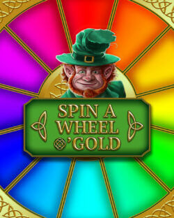 Spin a Wheel O'Gold online slots at mFortune online casino