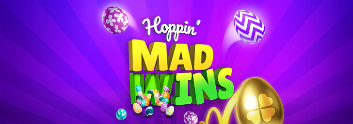Hoppin' MAD WINS on mFortune this Easter!