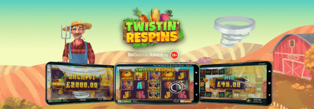 Triple-Twist some Free Spins around your little finger with mFortune's newest Slots game!