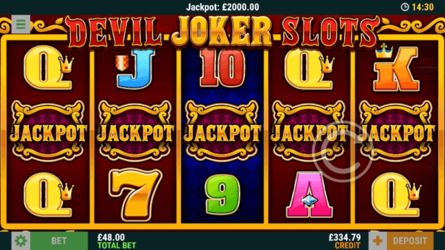 Winning big jackpot in Devil Joker slots online slots - mFortune online casino