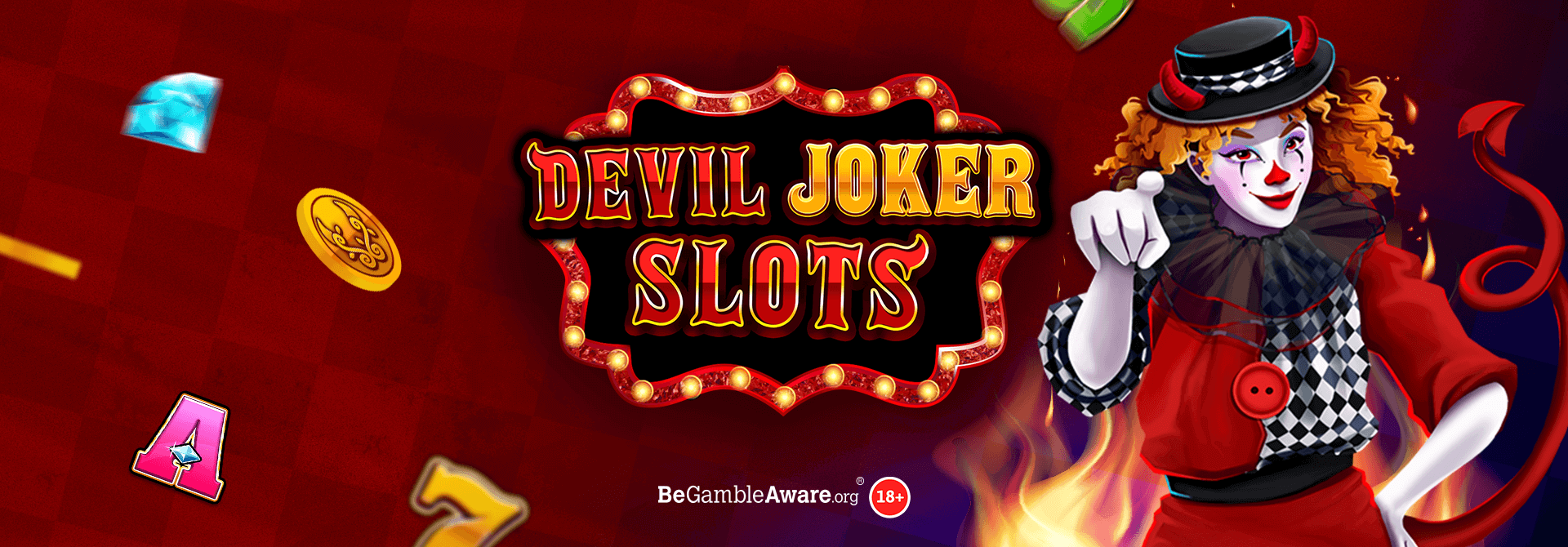 mFortune is burning up with a hot new release: Devil Joker Slots