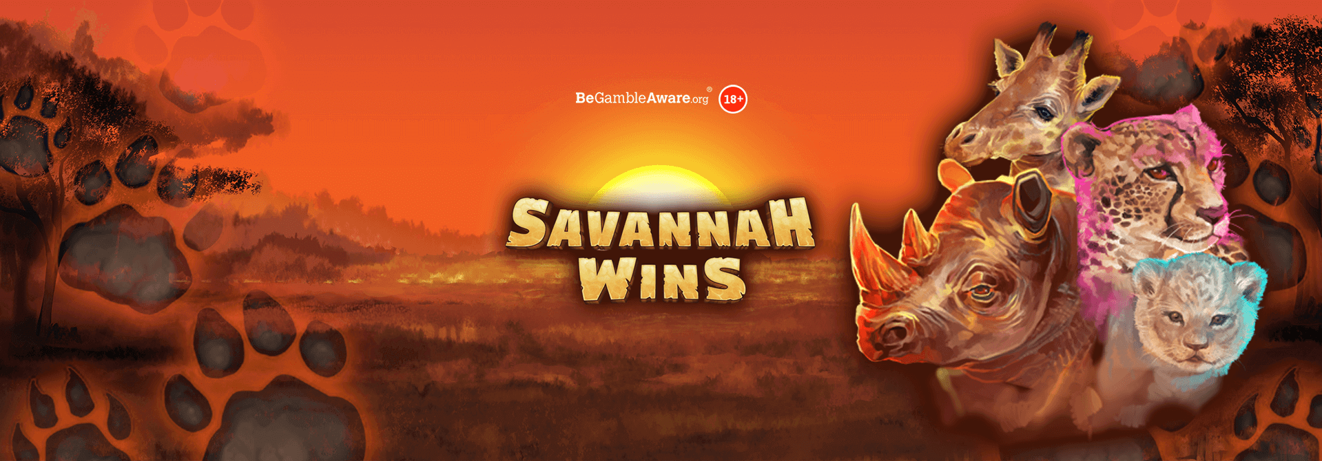 Step into winning wilderness and scout for some Savannah Wins at mFortune online casino!