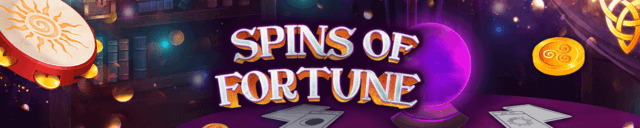 Spins of Fortune online slots at mFortune online casino