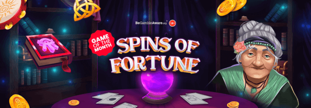 Spin in a fortune with mFortune's new game release!