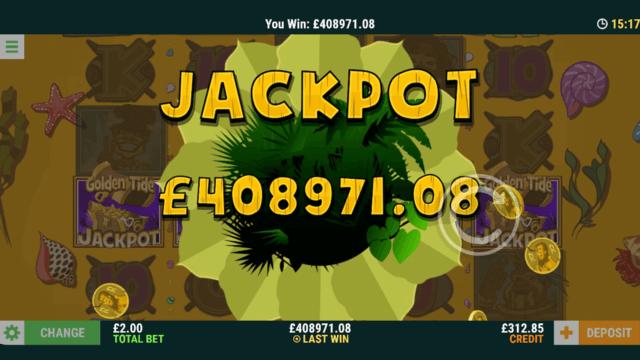 Robin Riches - In game screenshot - Jackpot £4089711.08