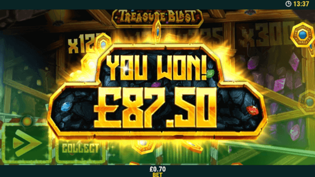 Win in Fantasy Gold online slots at mFortune Casino
