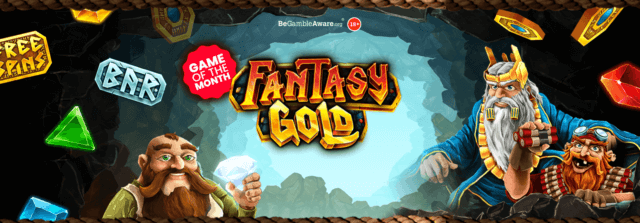 Can you strike Fantasy Gold in mFortune's latest online slots game?