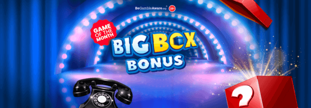 Step into the spotlight with mFortune's Big Box Bonus online slots!
