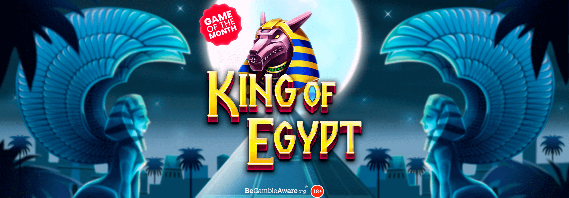 Unearth ancient riches on the King of Egypt online slots!