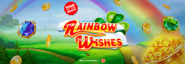 Will you find your pot of gold at the end of this rainbow?