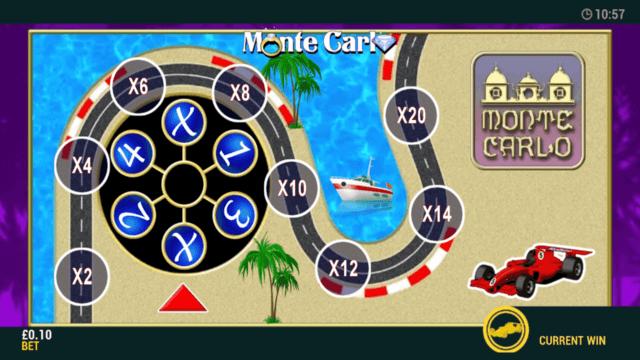 Monte Carlo - Online Slot - In game Screenshot - MFortune