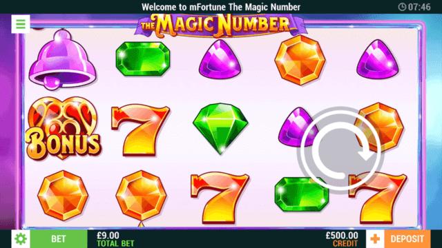 The Magic Number - In Game Screenshot - MFortune