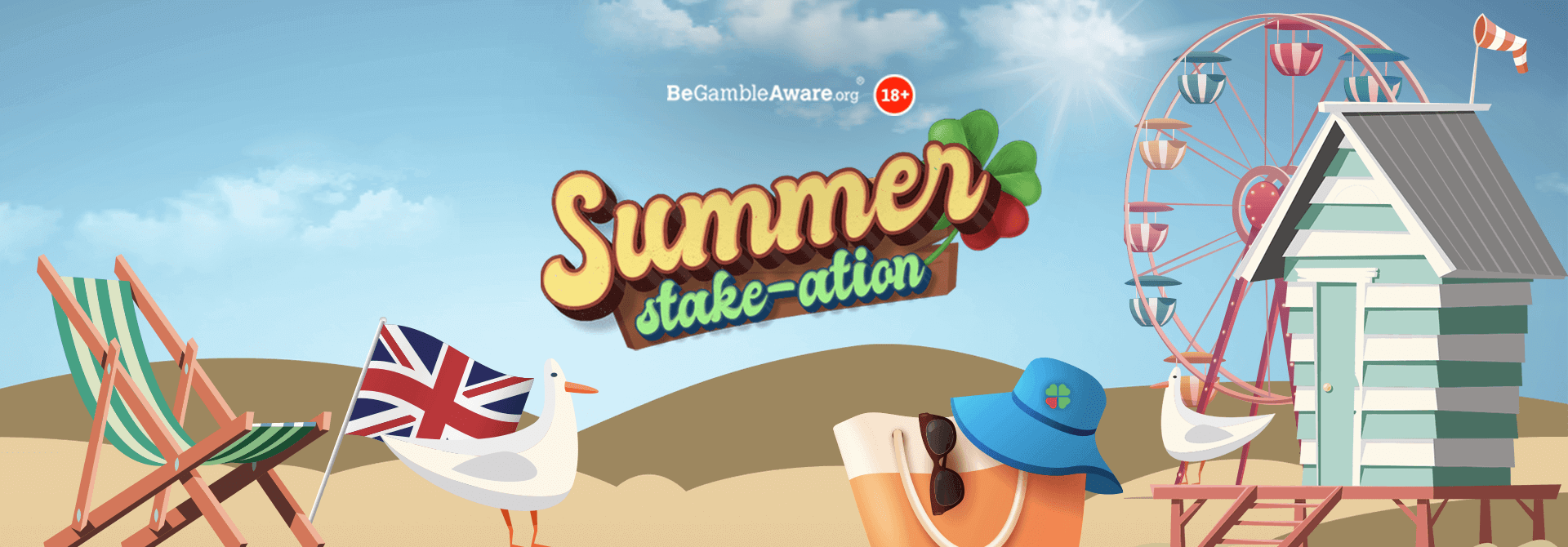 Sun, sea and spinning with our Summer Stake-ation!