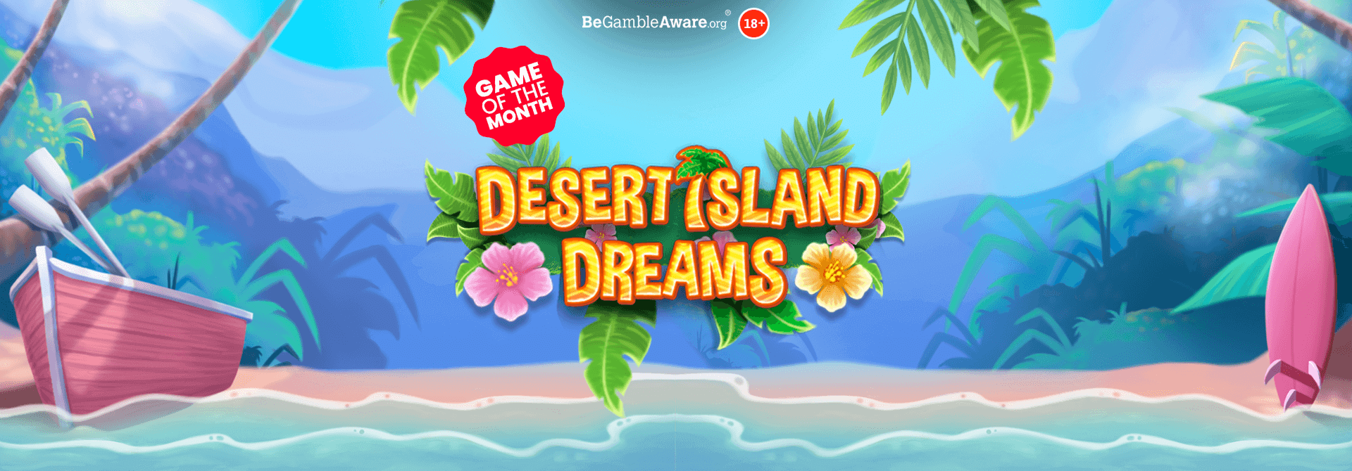 It's time to put your feet up and relax on Desert Island Dreams