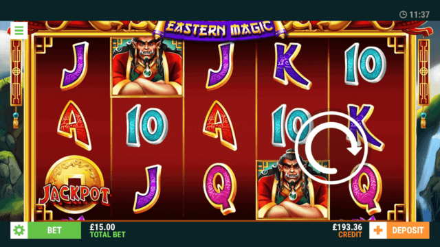 Eastern Magic - In game Screenshot