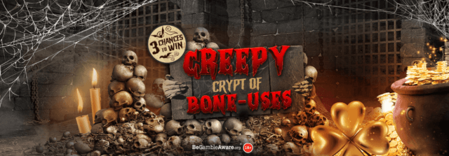There are some fantastic prizes to be found in the Creepy Crypt of Bone-uses!